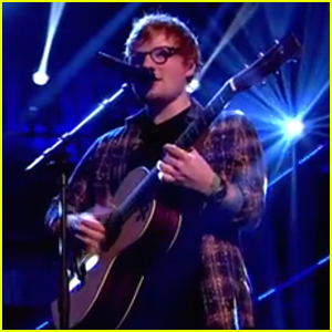 Ed Sheeran Shows His Support on Red Nose Day - Watch Now!