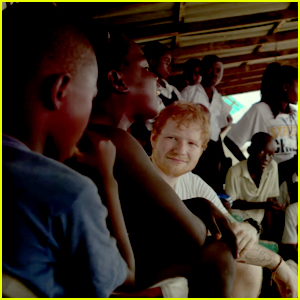 Watch Ed Sheeran Sing To Ebola Orphans in Liberia For Comic Relief (Video)