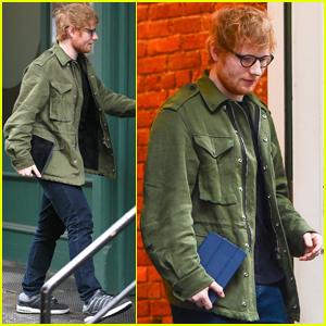 Ed Sheeran Hangs With Taylor Swift in New York City