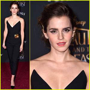 Emma Watson Rocks a Pantsuit at 'Beauty & The Beast' Hollywood Premiere!