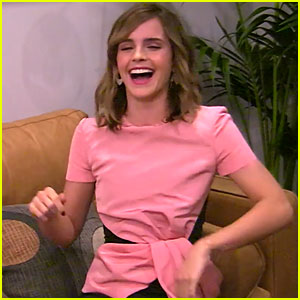 Emma Watson Can't Contain Her Laughter During Funny Hidden Camera Prank for 'Ellen' (Video)