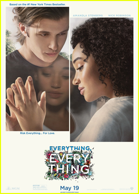 Amandla Stenberg & Nick Robinson Star on Official 'Everything, Everything' Poster