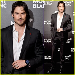 Ian Somerhalder Looks Hot at London Event!