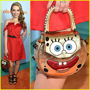 'School of Rock's Jade Pettyjohn Brought The Coolest Spongebob Squarepants Purse to KCAs 2017