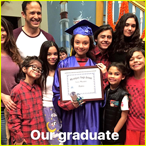 Stuck In The Middle's Kayla Maisonet Gets Surprise Graduation On Set!