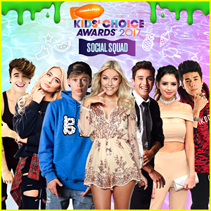 Gabriel & Jess Conte Lead Kids' Choice Awards First Ever Social Squad!