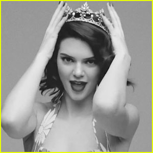 Kendall Jenner Does Her Best Marilyn Monroe Impression - Watch Now!