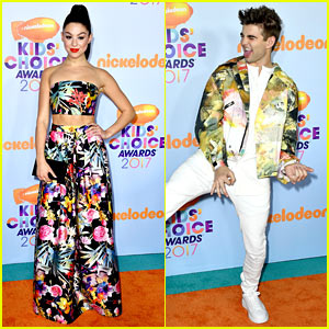 Kira Kosarin & Jack Griffo Light Up the Orange Carpet at KCAs 2017!