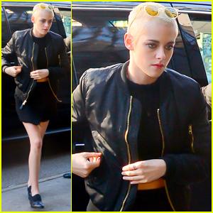 Kristen Stewart Thought Shaving Her Head Was a Great Idea