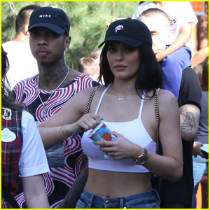 Kylie Jenner Spends The Day at Disneyland With Boyfriend Tyga