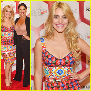 Lele Pons Rocks Bright & Colorful Look at People En Espanol's Most Powerful Women Luncheon