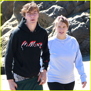 Lucky Blue Smith & Stormi Bree Spend the Afternoon At the Beach!