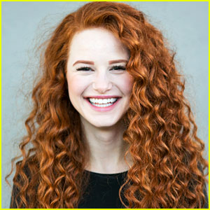 riverdale's madelaine petsch rocks curly red hair for new 'redhead