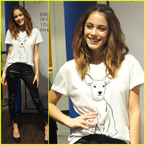 Martina Stoessel Clothing Line Launch in Madrid Brings Out All Her Fans