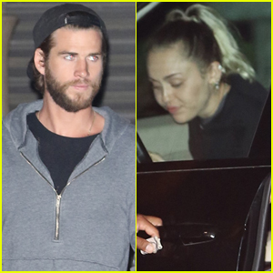 Miley Cyrus & Liam Hemsworth Couple Up in Malibu