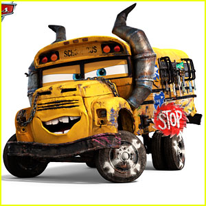 'Cars 3' Introduces The Coolest, Most Badass Bus Ever!
