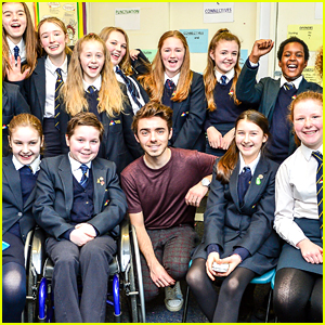 Nathan Sykes Spends Time With Young Cancer Survivor After Writing Inspiring Story For Cancer Research UK
