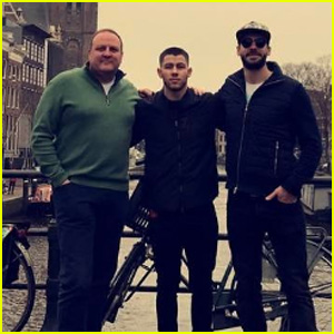 Nick Jonas Is Touring Europe During Some Time Off!