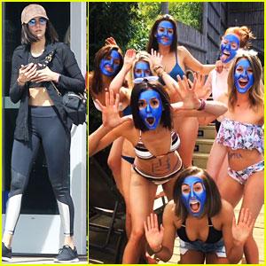 Nina Dobrev & Danielle Campbell Form Blue Woman Group