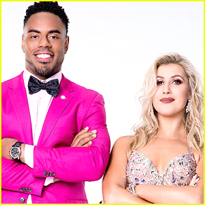 Emma Slater & Rashad Jennings Viennese Waltz on DWTS Season 24 Week 2
