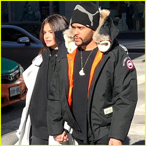 Selena Gomez Goes Shopping with The Weeknd in His Hometown!
