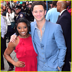'DWTS' Sasha Farber Is The First Guy Simone Biles Has Ever Danced With!