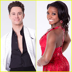 Simone Biles & Sasha Farber Announce Their 'DWTS' Team Name -- It's Perfect & Adorable!