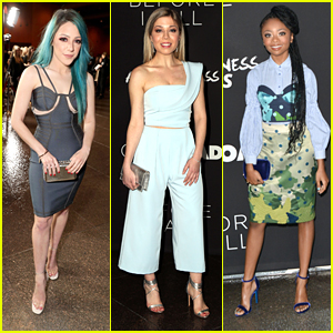 Niki DeMartino, Skai Jackson & Jennette McCurdy Style Up the Premiere of 'Before I Fall'