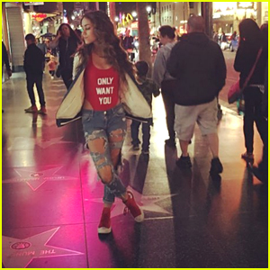 Skylar Stecker Takes Fans To Hollywood With Her 'Only Want You' Video!