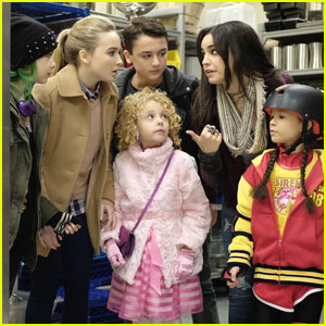 Sabrina Carpenter & Sofia Carson Have A 'Adventures in Babysitting' Mini-Reunion