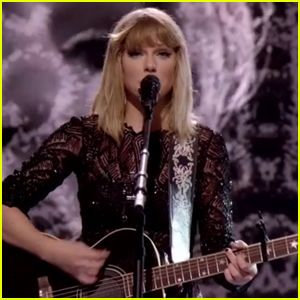 Taylor Swift Sings Acoustic Version of 'I Don't Wanna Live Forever' - Watch Now!