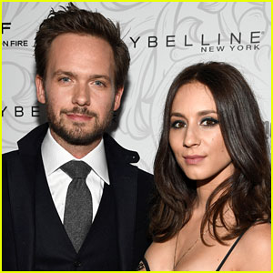 Troian Bellisario & Patrick J. Adams Are Filming a Sci-Fi Film Together!