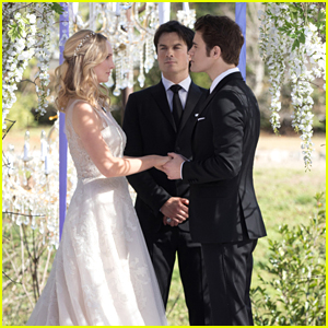 Read Stefan & Caroline's Wedding Vows on 'The Vampire Diaries' #Steroline
