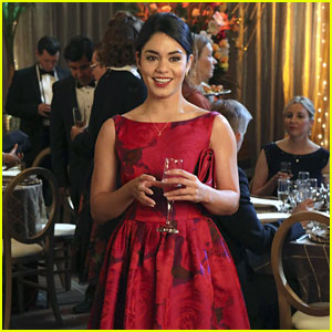 Vanessa Hudgens Gets All Fancy For Tomorrow's New 'Powerless' Episode
