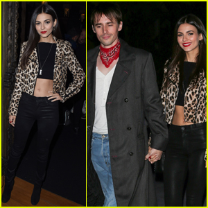 Victoria Justice & Boyfriend Reeve Carney Head to Red Hot Chili Peppers Concert