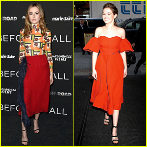 Zoey Deutch Premieres Her Movie 'Before I Fall' in NYC