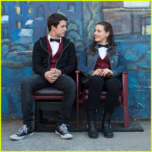 13 Reasons Why' Dylan Minnette & Katherine Langford Gush Over Each Other (Video)