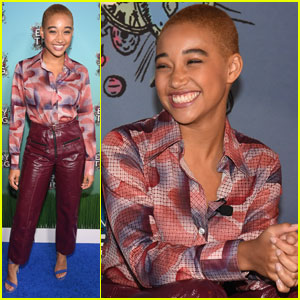 Amandla Stenberg Doesn't Necessarily Always Subscribe to Female Pronouns