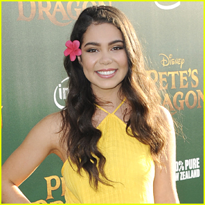 Moana's Auli'i Cravalho's Biggest Fan is Definitely Her BFF!