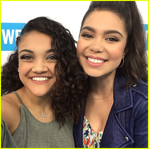 Laurie Hernandez Meets 'Queen' Auli'i Cravalho at We Day California & We Are Officially Jealous!