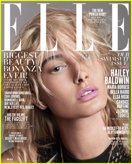 Hailey Baldwin & Bella Hadid Take on 'Elle' Cover With Their Model Pals