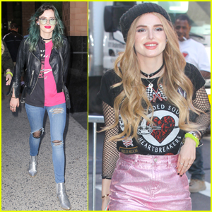 Bella Thorne Switches Up Her Hair Before 'Famous in Love' Premiere