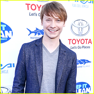Calum Worthy Puts on Comedy Show For Clean Water Awareness