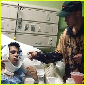 Cameron Dallas Nurses BFF Chris Gonzalez After Jaw Surgery