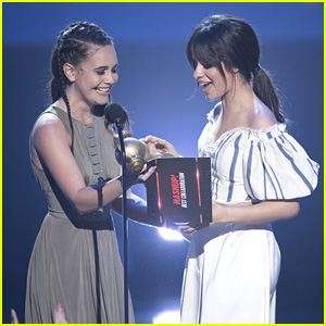 Camila Cabello Has The Best Reaction After Winning at RDMAs 2017!