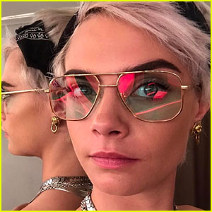 Cara Delevingne Makes Dramatic Change to Her Hairstyle - See Her New Pixie 'Do!