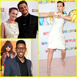 Britt Robertson Joins 'Girlboss' Cast at Premiere of New Netflix Series