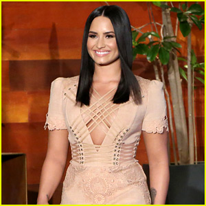 Demi Lovato Talks About Her Love for Cursing on 'Ellen'