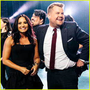 Demi Lovato Sings Adele & Katy Perry Songs for 'Divas Riff-Off' with James Corden!
