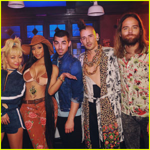 DNCE Set to Drop 'Kissing Strangers' Single (feat. Nicki Minaj) This Friday!